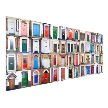 Quadro in forex - 100 Doors - Panoramico