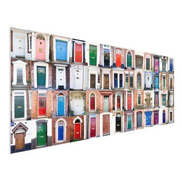 Quadro in forex - 100 Doors - Panoramico
