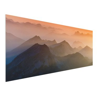 Quadro in forex - View Of The Zugspitze - Panoramico