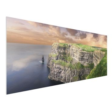 Quadro in forex - Cliffs of Moher - Panoramico