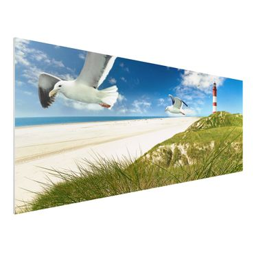 Quadro in forex - Dune Breeze - Panoramico