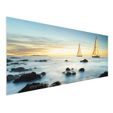 Quadro in forex - Sailors At The Ocean - Panoramico