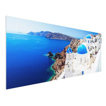 Quadro in forex - View Over Santorini - Panoramico