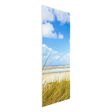 Quadro in forex - on the North Sea coast - Pannnello