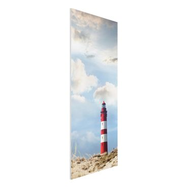 Quadro in forex - Lighthouse in the dunes - Pannnello