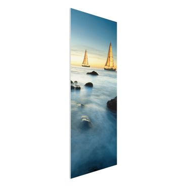 Quadro in forex - Sailboats in the ocean - Pannnello