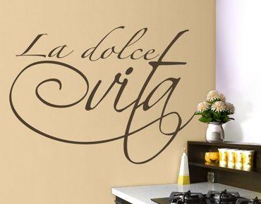 Adesivo murale no.BR132 La dolce vita
