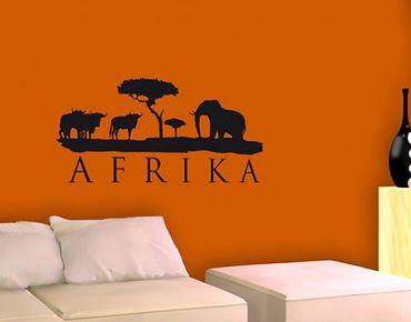 Adesivo murale no.BR168 africa