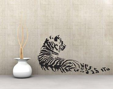 Adesivo murale no.UL170 Tiger