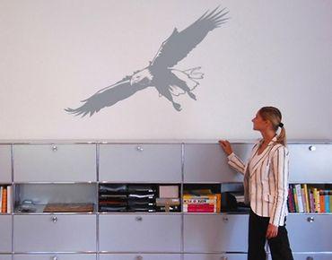 Adesivo murale no.340 eagle