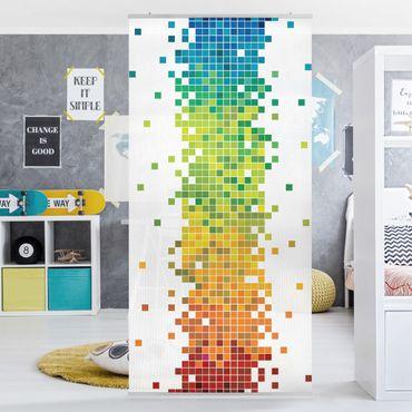 Tenda a pannello Pixel Rainbow 250x120cm