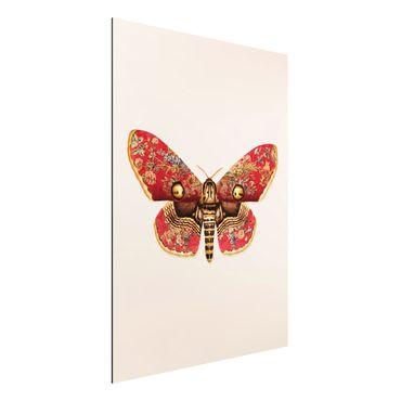 Stampa su alluminio - Vintage Moth - Verticale 4:3