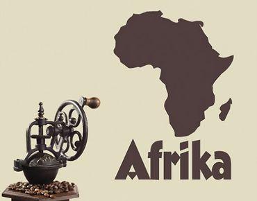 Adesivo murale no.UL197 map africa