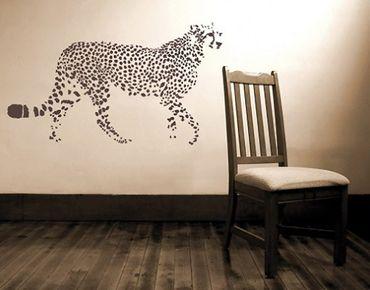 Adesivo murale no.UL199 cheetah