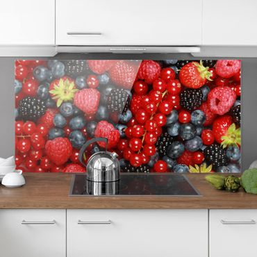 Paraschizzi in vetro - Fruity Berries