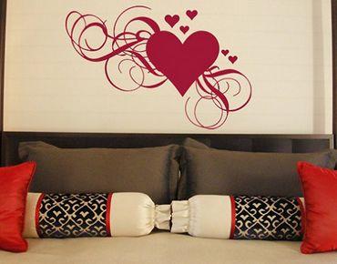 Adesivo murale no.334 hearts