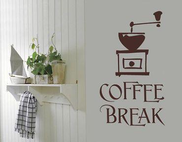 Adesivo murale no.SF317 coffee break 5