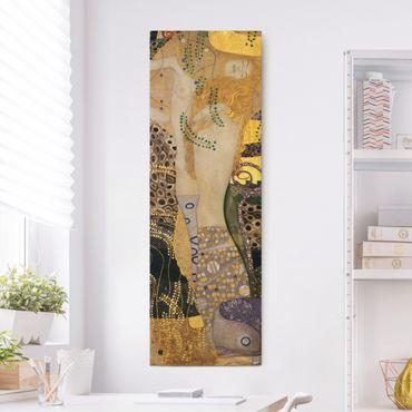 Quadri su tela - Gustav Klimt - Serpenti d'acqua I
