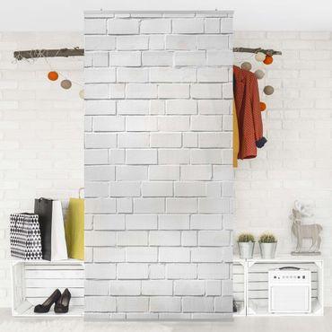 Tenda a pannello White Stone Wall 250x120cm