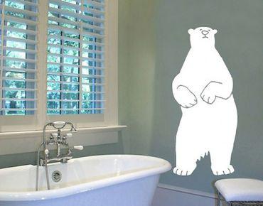 Adesivo murale no.UL121 ice bear