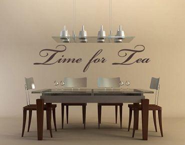 Adesivo murale no.NH34 time for tea