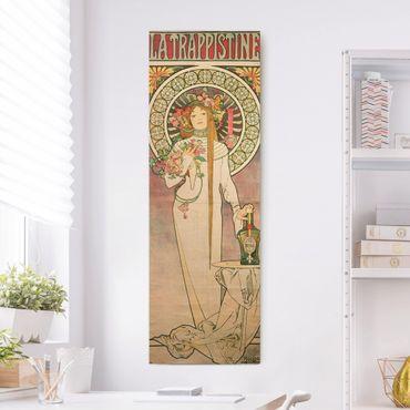 Quadri su tela - Alfons Mucha - Pubblicita Poster Per La Trappistine