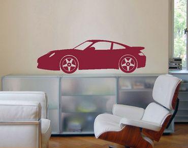 Adesivo murale no.347 Porsche