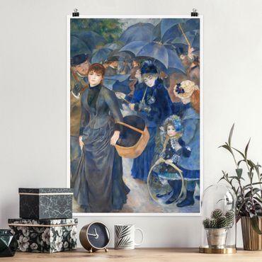 Poster - Auguste Renoir - The Umbrellas - Verticale 3:2