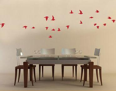 Adesivo murale no.61 Flock Of Birds