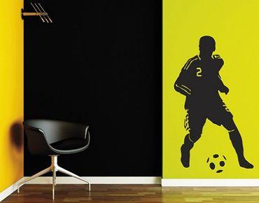Adesivo murale no.UL186 soccer player 2