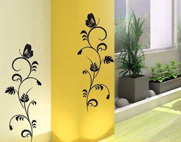 Adesivo murale no.124 flora duo
