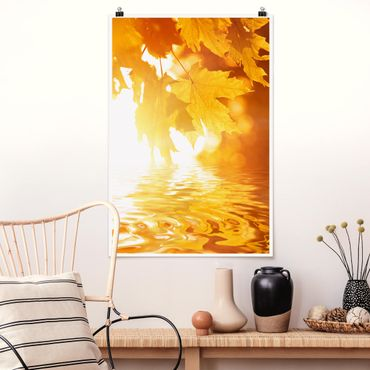 Poster - Autumn Leaves - Verticale 3:2