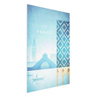 Stampa su Forex - Poster viaggio - Venezia - Verticale 4:3