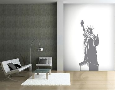 Adesivo murale no.SF406 the Statue of Liberty