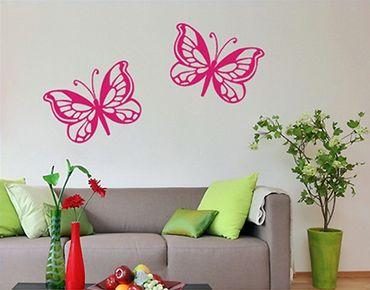 Adesivo murale no.SF418 butterfly duo