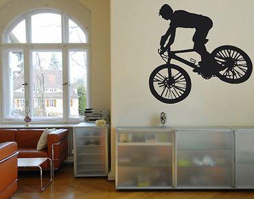 Adesivo murale no.UL242 Biker