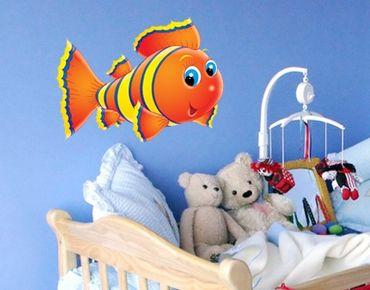 Adesivo murale no.6 Stripe Fish