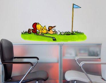 Adesivo murale no.22 Golfer Creative