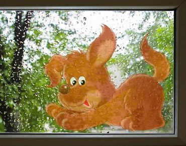 Adesivi da finestra no.28 Willi The dog