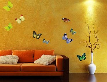 Adesivo murale no.32 Butterflies Set1