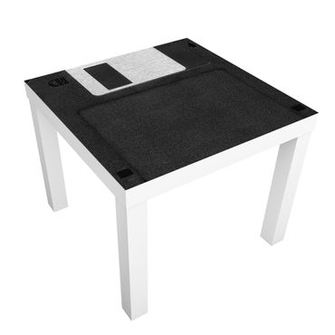 Carta adesiva per mobili IKEA - Lack Tavolino Floppy Disk