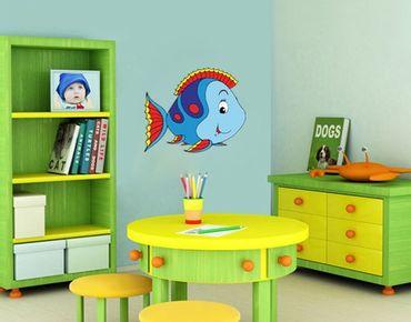 Adesivo murale no.41 Funny Fish