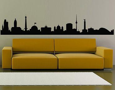 Adesivo murale No.362 Silhouette Berlin