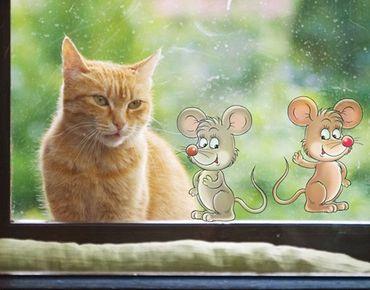 Adesivi da finestra no.45 mouse