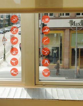 Adesivi da finestra no.220 Sport Set