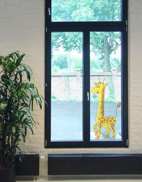 Adesivi da finestra no.58 proud giraffe