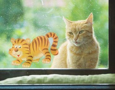 Adesivi da finestra no.60 tiger