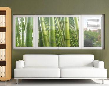 Decorazione per finestre Bamboo Trees No.2