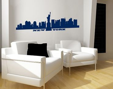 Adesivo murale no.SF490 New York Skyline