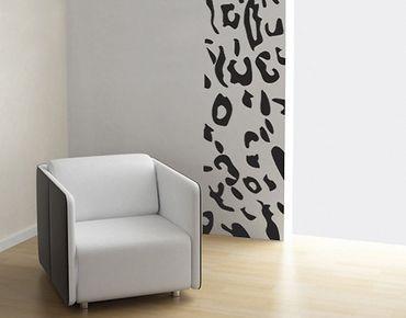 Adesivo murale no.UL233 Wallpaper leopard